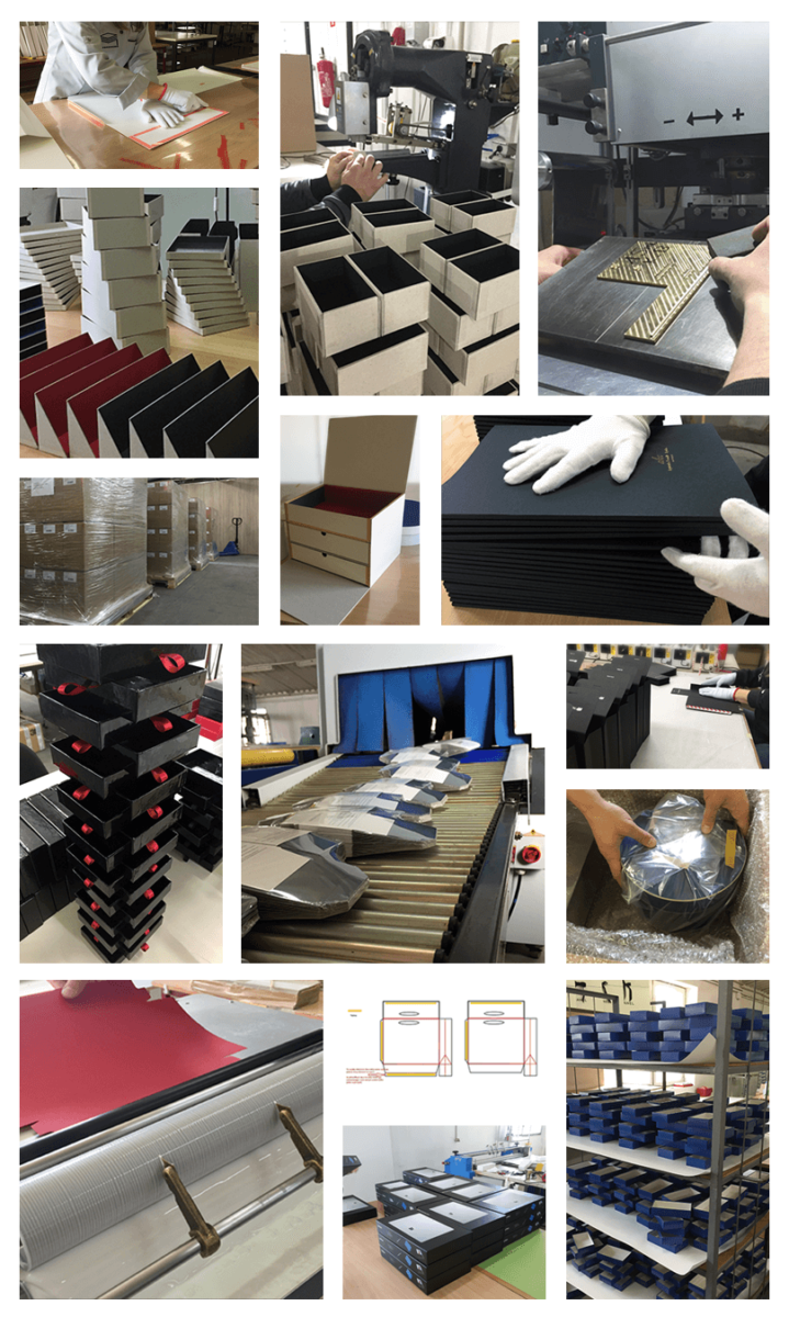 Proces produkcyjny pudełek